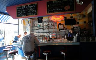 Diners at Johnny's Luncheonette