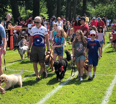 July 4 Dog Parade 2019