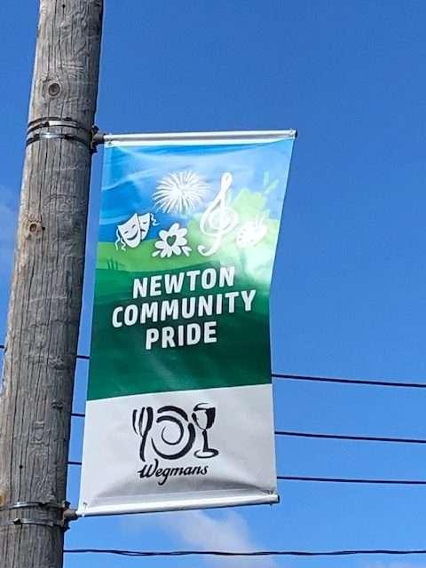 Banner with Wegman's Logo