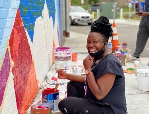 Destiny Palmer Wins 28 Austin St Mural Competition