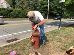 Cleaning Hydrant