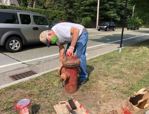 Newton Resident Volunteers to Clean Up Fire Hydrants
