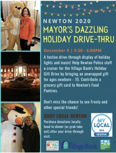 Holiday Event, City Hall, 12/9, 5:30pm