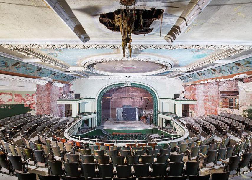 Photo for sale of old theater