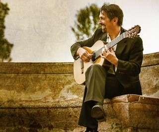 John Muratore with guitar