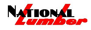 National Lumber Logo