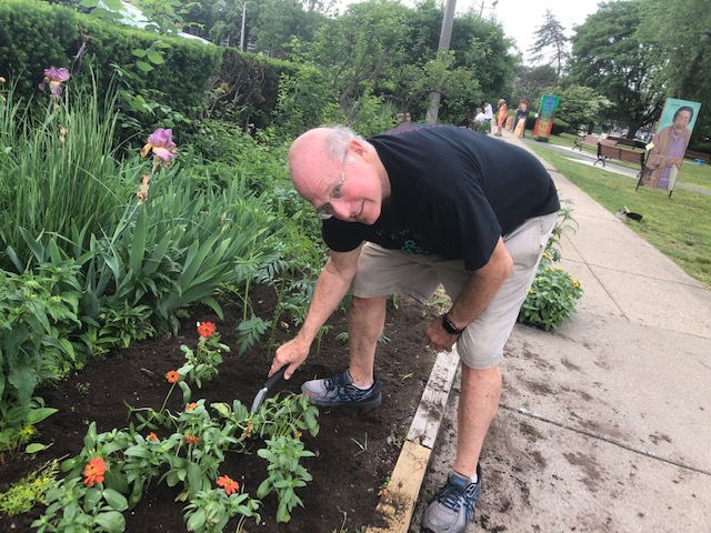 Howard Sholkin in Garden