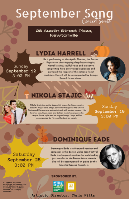 September Song Concert Series